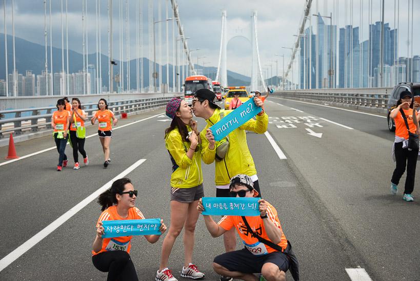 Gwangan Bridge Race Marry Me Storming the Bridge: Busan Hosts Koreas Greatest Race