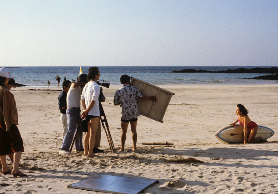 A photoshoot at Hyopjae Beach Echoes of Jeju: A Photo Essay of Korean Island Life in 1979 (Part 2)
