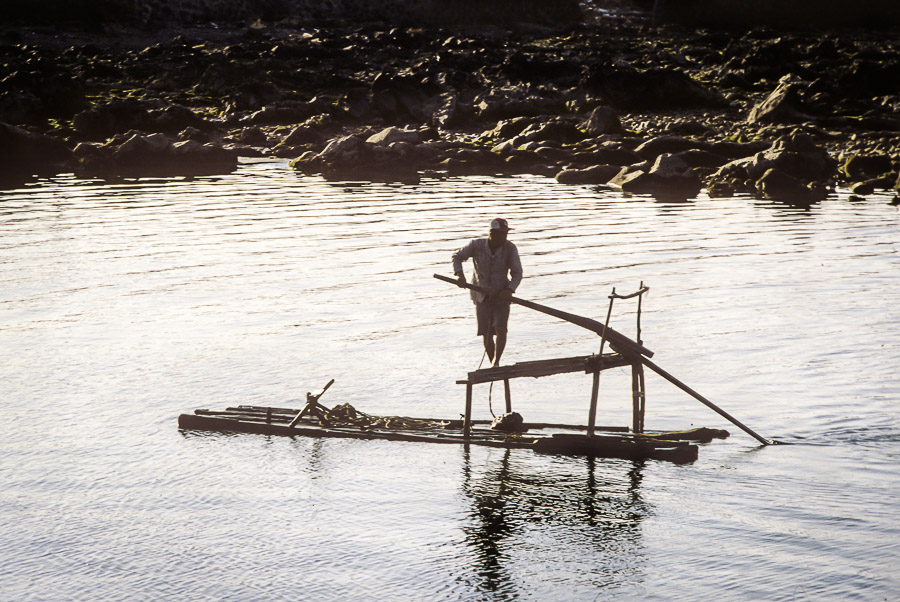 Old style raft Echoes of Jeju: A Photo Essay of Korean Island Life in 1979 (Part 1)