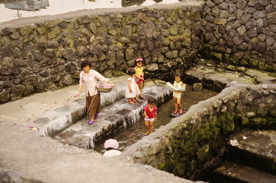 The local laundry spot.  Echoes of Jeju: A Photo Essay of Korean Island Life in 1979 (Part 2)