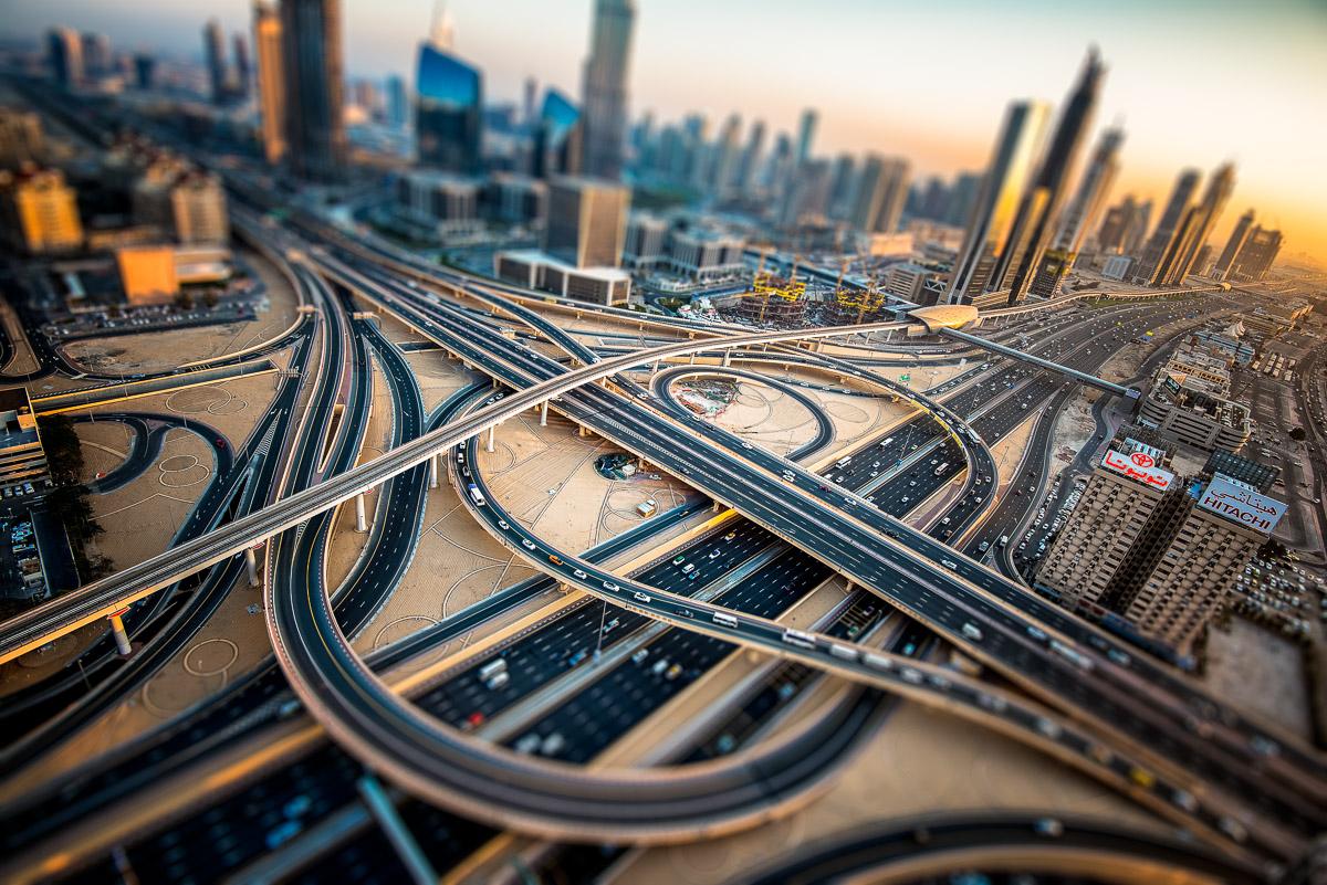 Dubai, Junction, UAE, First Interchange, Middle East
