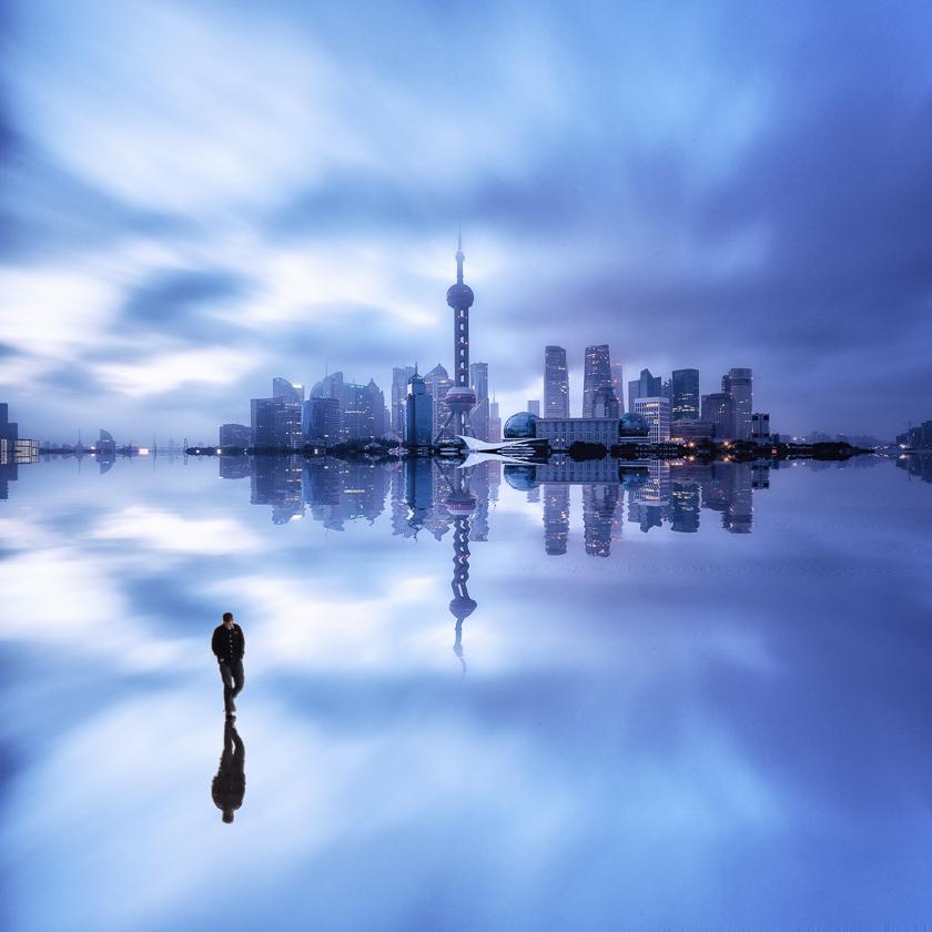 Walking on Water in Shanghai