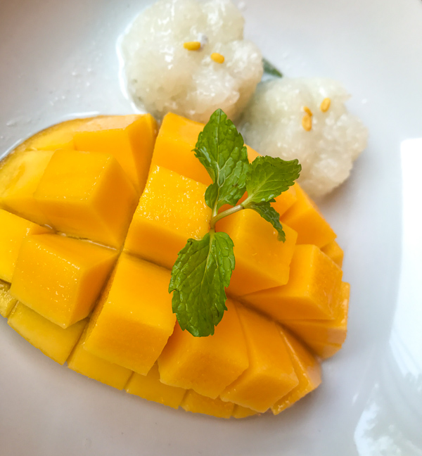 thailand, food, mango, sticky rice, photography, guide